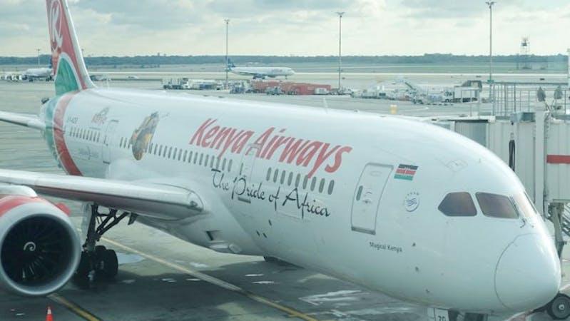 Kenyan Airway cargo plane