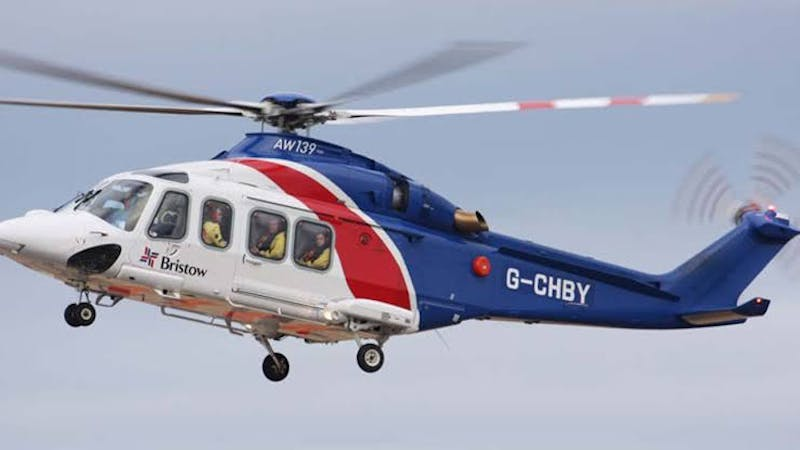 Bristow helicopters Nigeria - a helicopter transport company