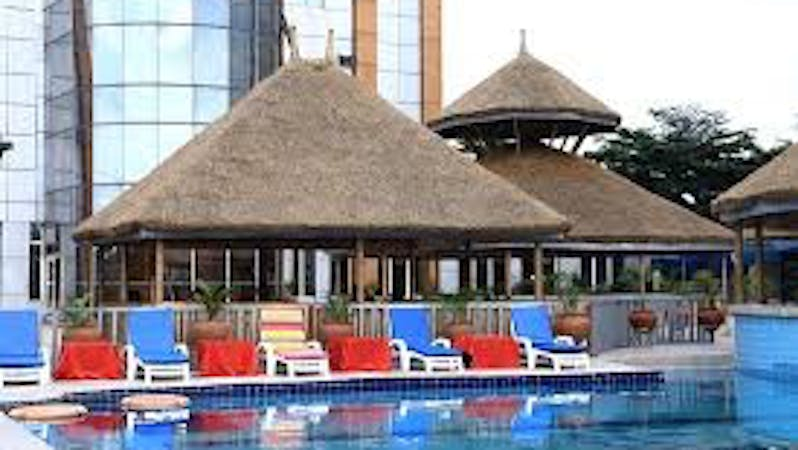 Signatious hotel owned by former Minister of State for Education, Kenneth Gbagi, who asked his staff to strip off, videoed and arrested them. The hotel in which police arrested two staff for assault on fellow staff.
