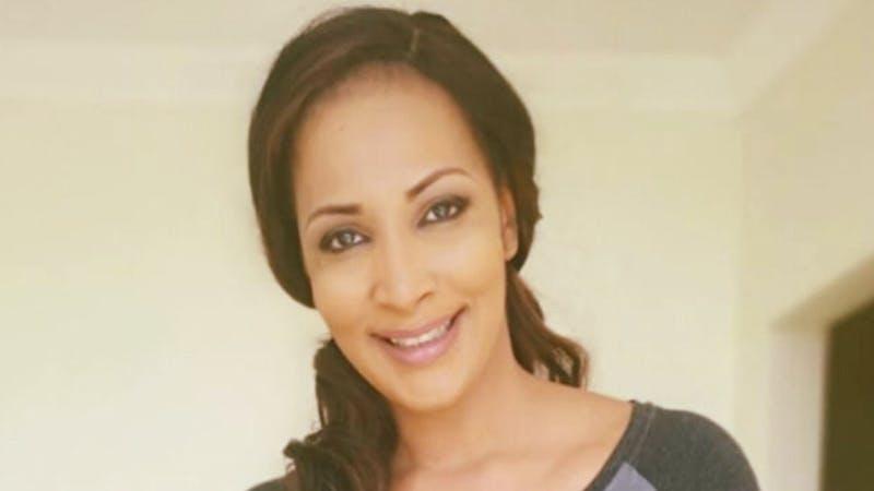 Bianca Ojukwu, the former Nigeria ambassador to Spain keeping fit