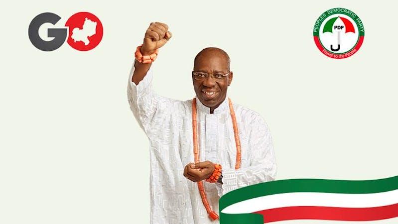 Godwin Obaseki, winner of 2020 Edo governorship election.