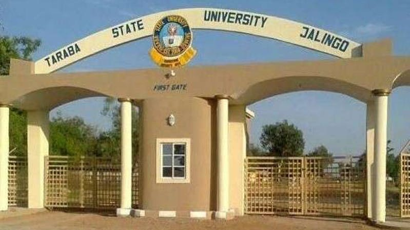 Entrance gate of Taraba State University, Jalingo.