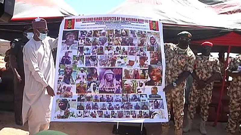 Army releases 86 names of wanted Bokoharam