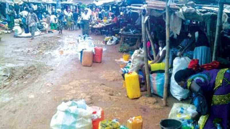 Business women at Kpirikpiri market Ebonyi State