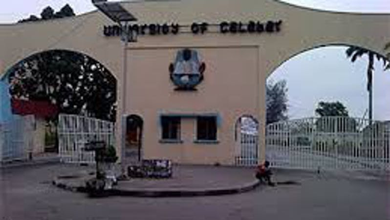 List of courses offered by University of Calabar, UNICAL