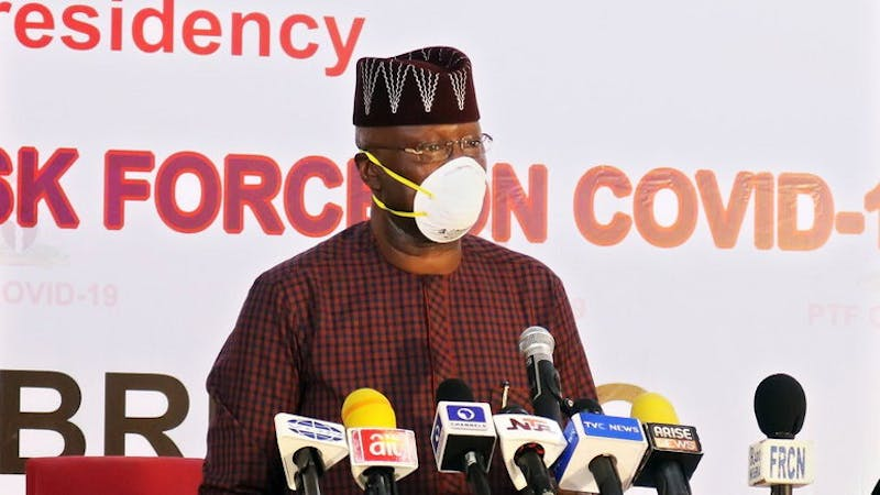 The Federal Government has shown displeasure Nigerians violating the rules and regulation stipulated to contain the coronavirus