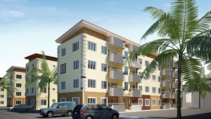 Lagos State government has suspending the building of estates without proper law approval