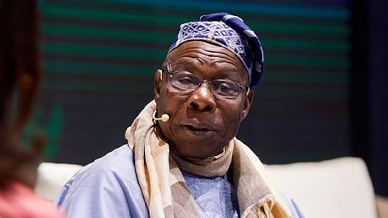 Olusegun Obasanjo former president on Nigeria