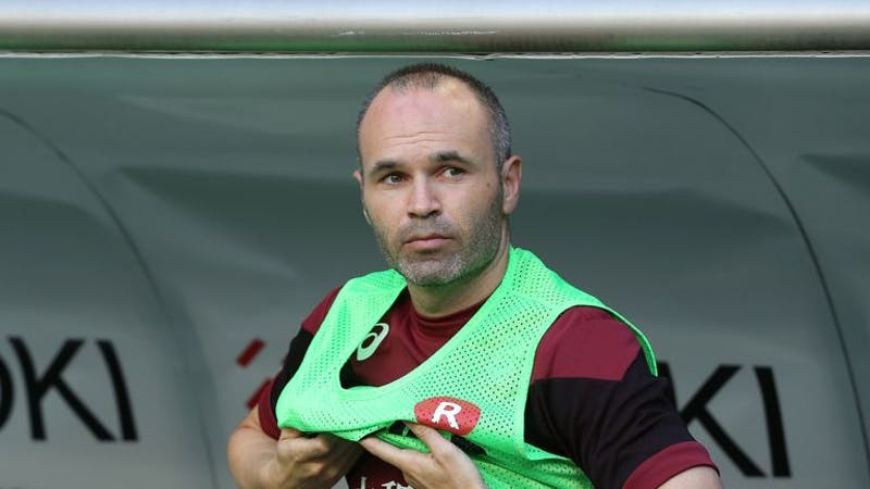 Andres Iniesta is the seventh richest footballers in world
