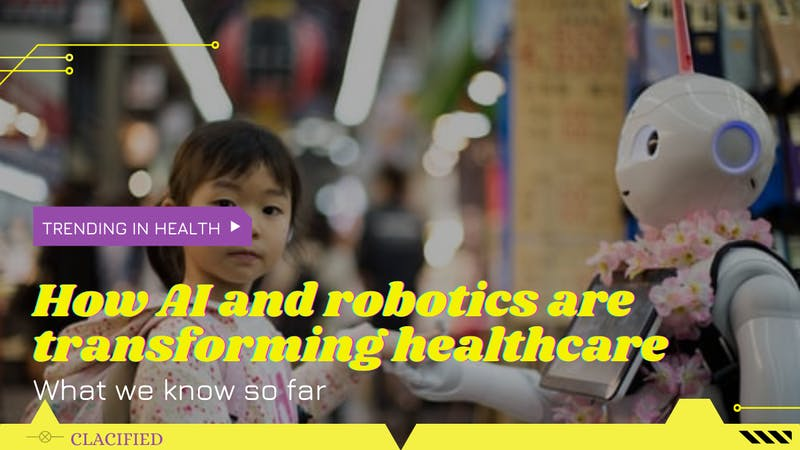 Application of artificial intelligence (AI) and Robotics in healthcare system