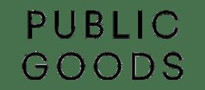 Public Goods logo