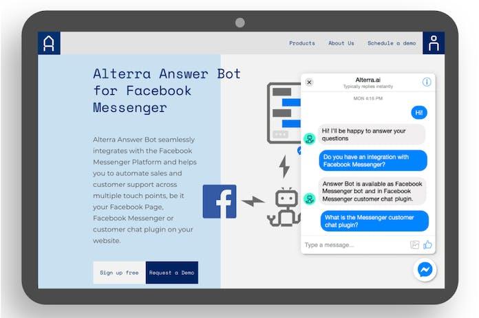 Homepage of the Alterra website