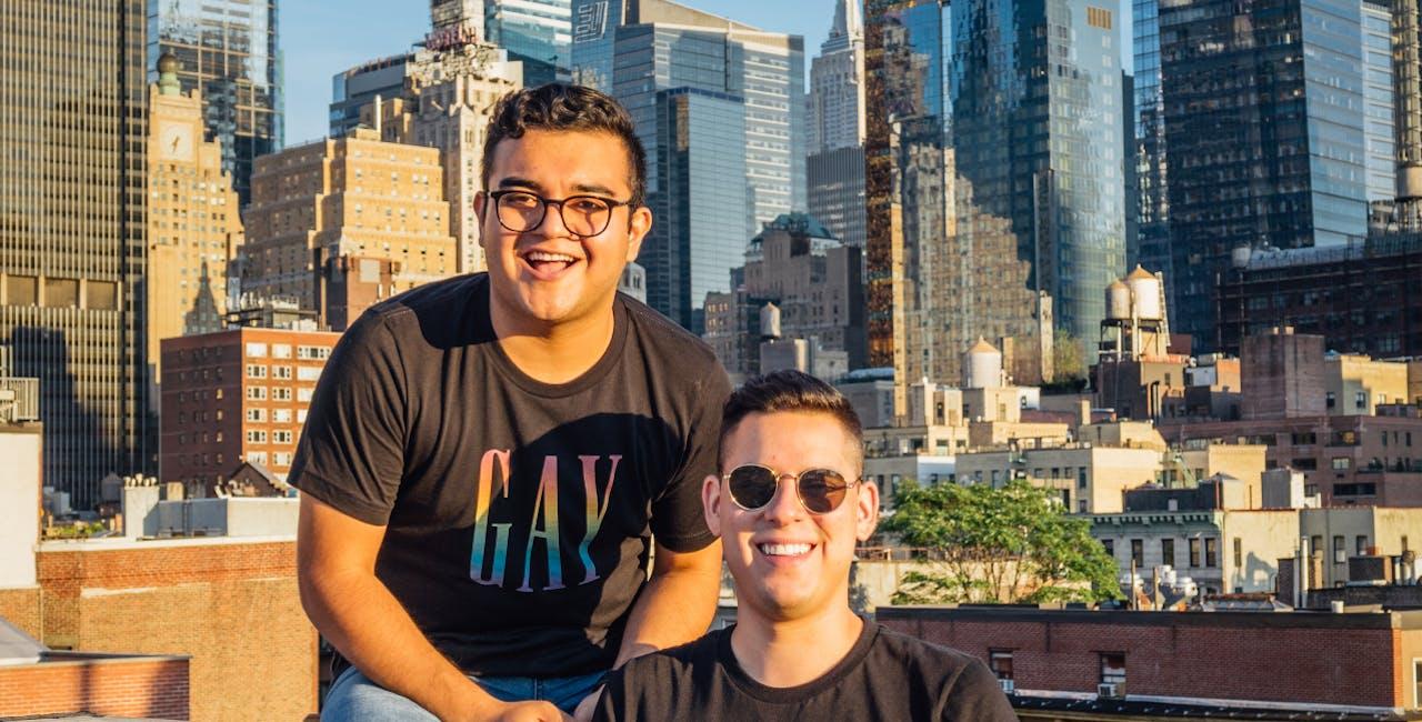 Founders of Gay Pride Apparel