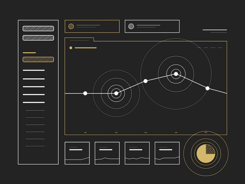 A schematic design of Google Analytics