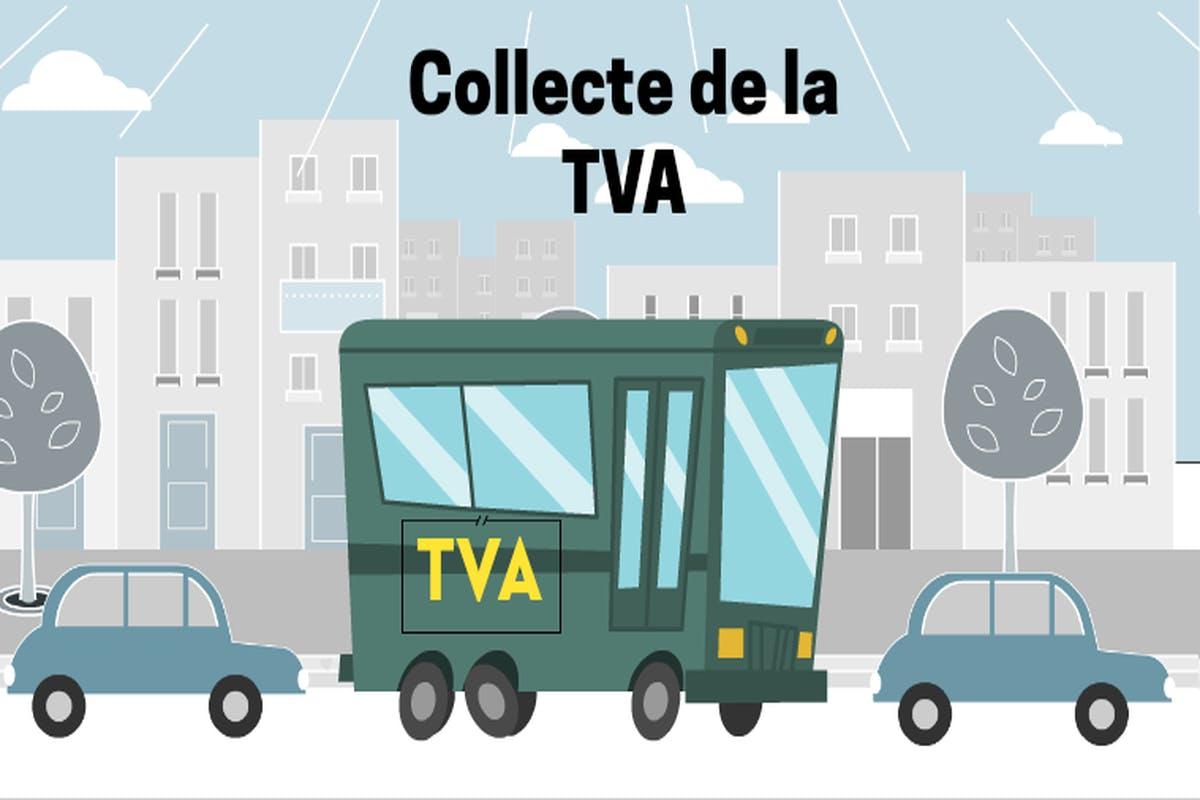 Quel est le principe de la TVA collectée ?