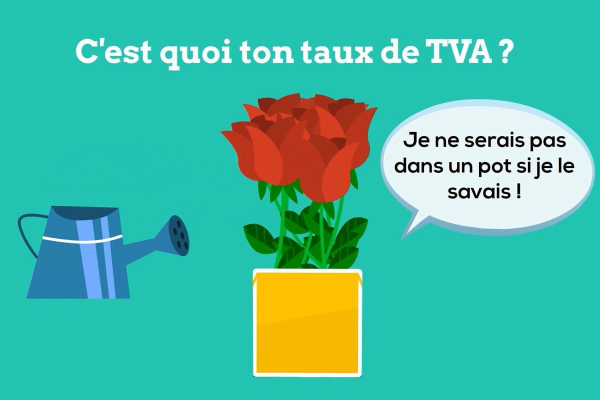 Les taux de TVA applicables aux fleurs et plantes