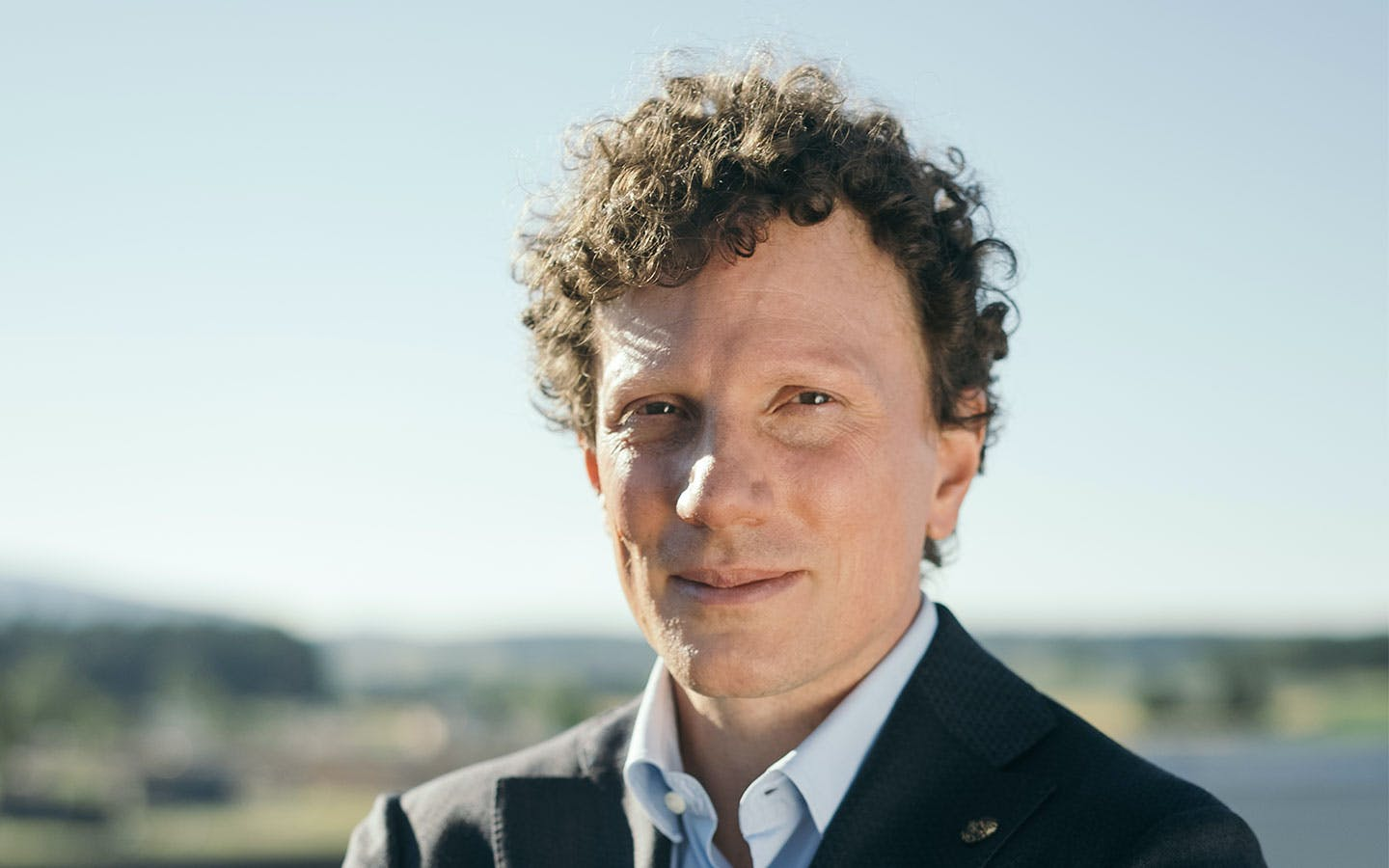 Christoph Gebald, co-CEO and co-founder of Climeworks