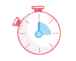 Stopwatch illustration