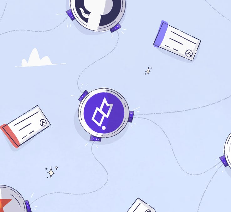 Clubhouse integrates with GitHub, GitLab, Bitbucket.