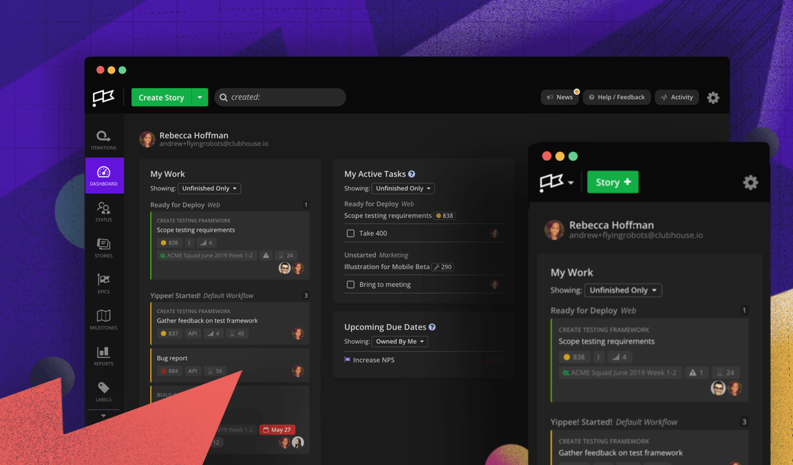 Dark Mode in Clubhouse