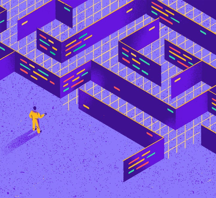 You must complete this maze to finish your project