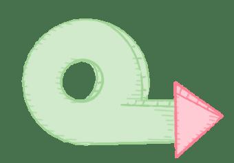 Iterations icon illustration