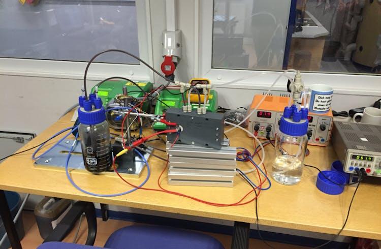 Batterieprototyp bei CMBlu.