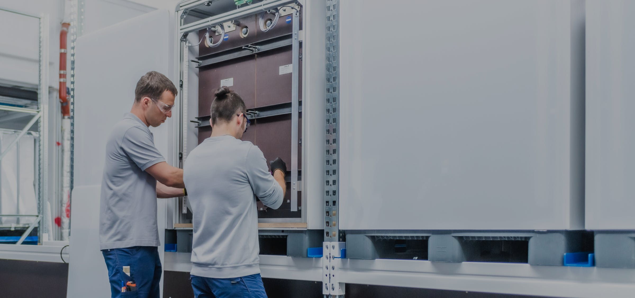 A sneak peek at working life with the CMBlu organic flow battery company.