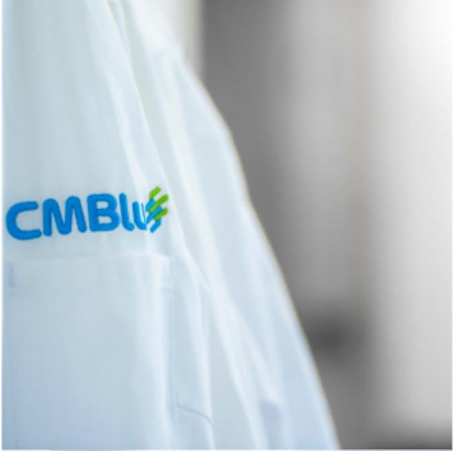 TODO: CMBlu logo on shirt