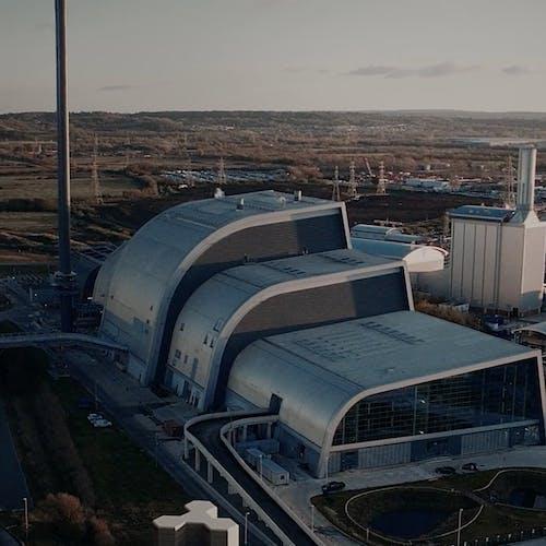 Großstromspeicher für den Einsatz in der Industrie.