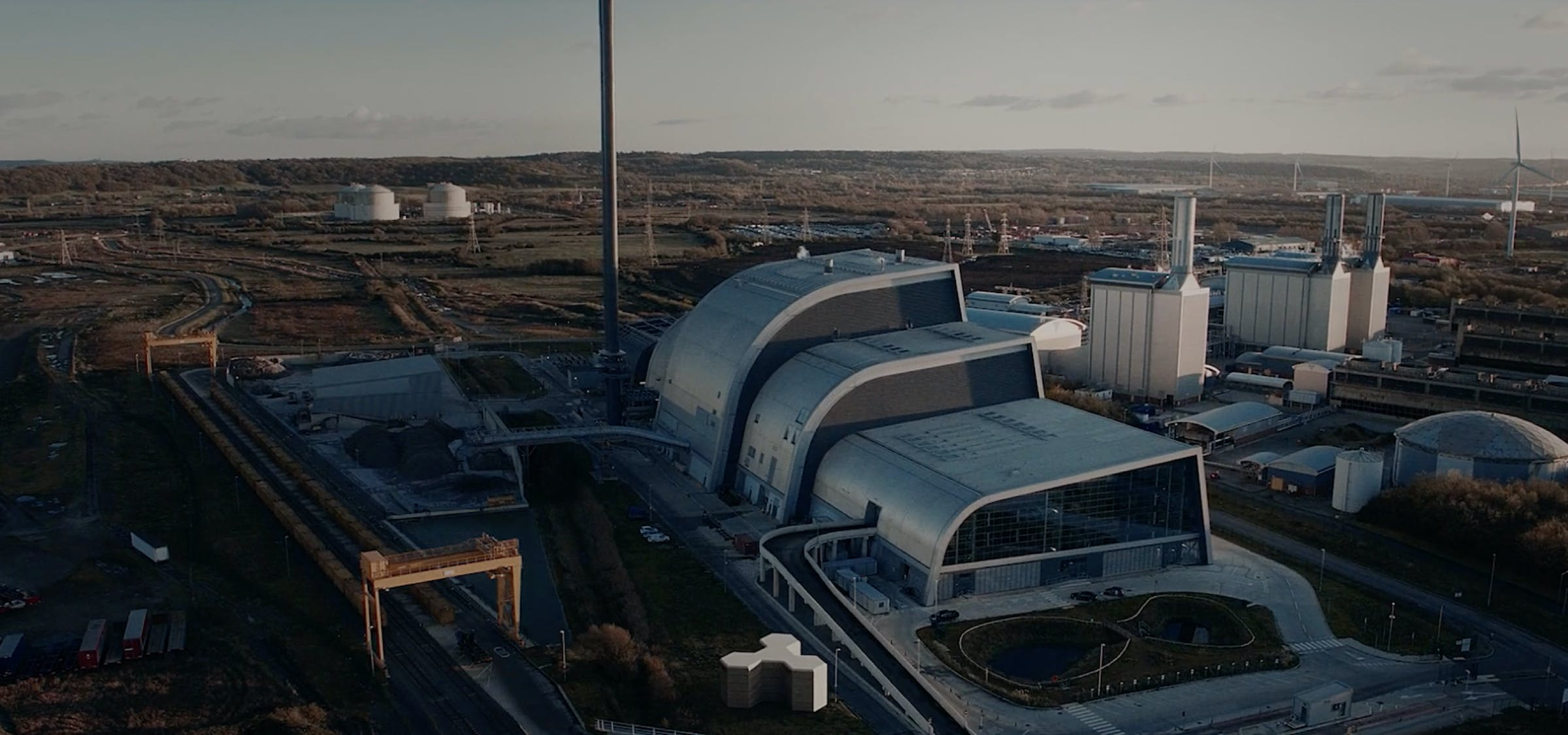 Bulk energy storagefor use in industry.