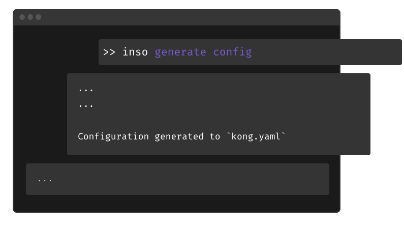 Automatically configure your API gateway