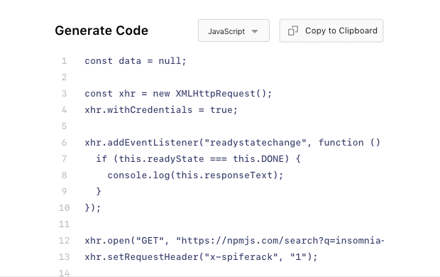 Develop faster with Code Generation