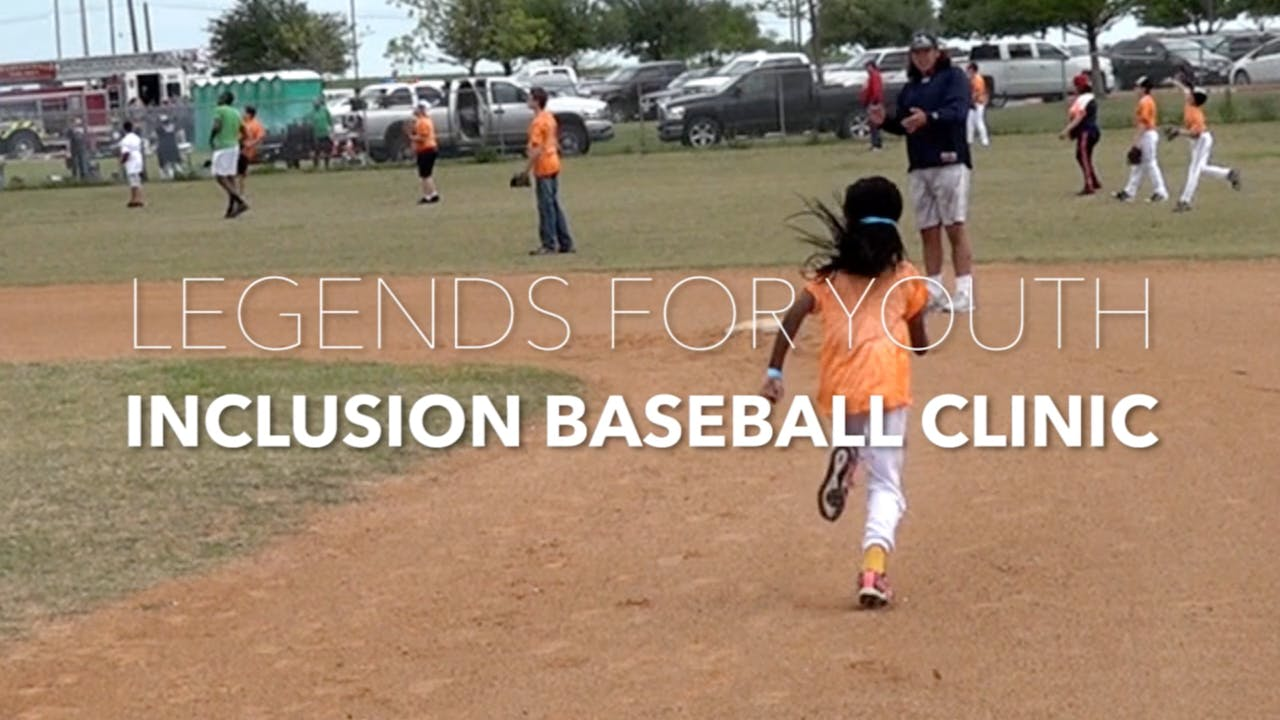 LEGENDS FOR YOUTH INCLUSION BASEBALL CLINIC