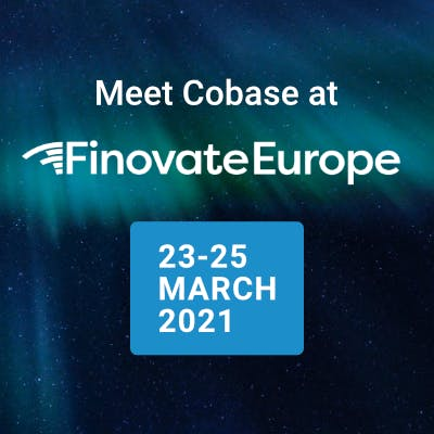 Meet us at Finovate 23-25 March