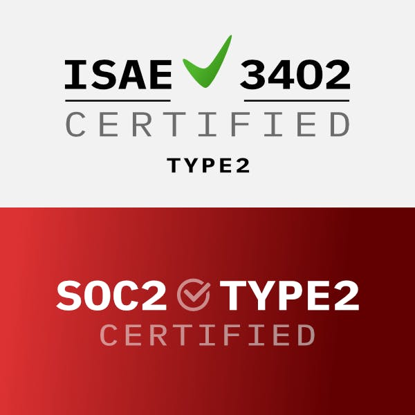 Cobase ISAE 3402 Type 2 and SOC2 Type 2 certified