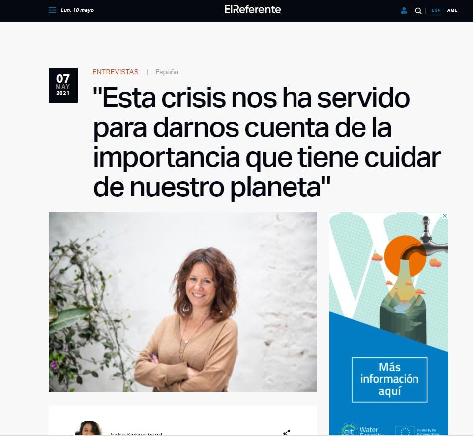 Entrevista Paula Sánchez El Referente CoCircular