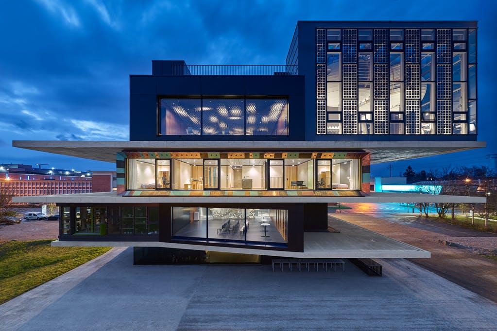 Edificio Nest en Suiza