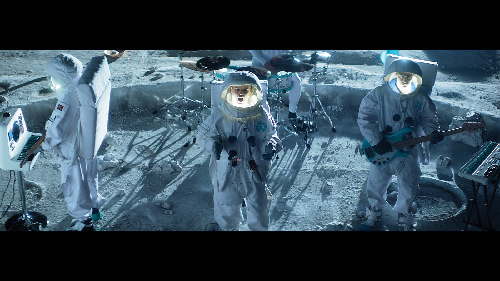 """""""Just wanted to say thank you to everyone from Cods who worked on the moon set for us, it looked unbelievable"""" Cal Gordon, Head of Production"""