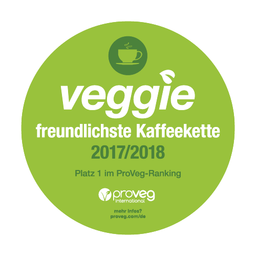 ProVeg: First rank for most veggie-friendly coffee shop chain-icon