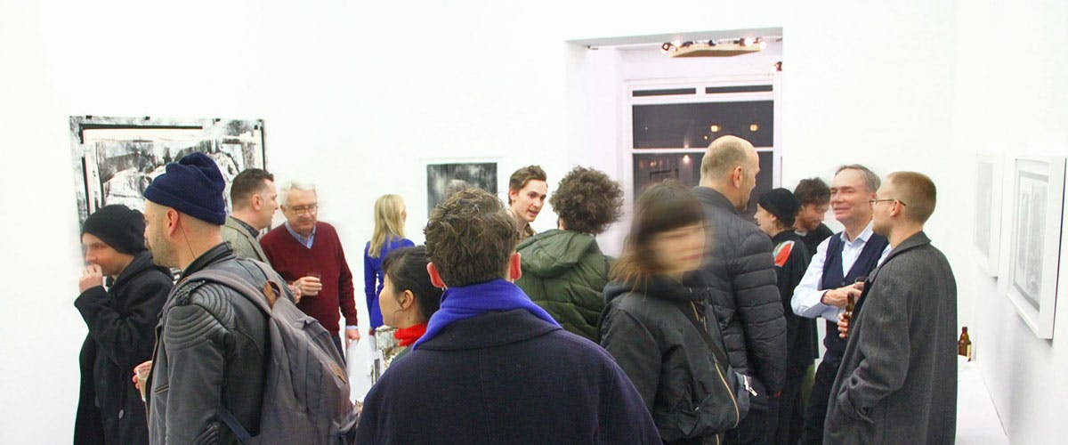 Berlin Artist Residency Exhibition at coGalleries A. Laidlaw <br />