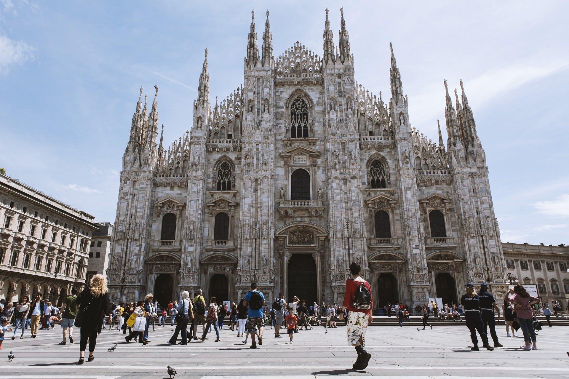 Milan's Duomo, photo by Pixabay