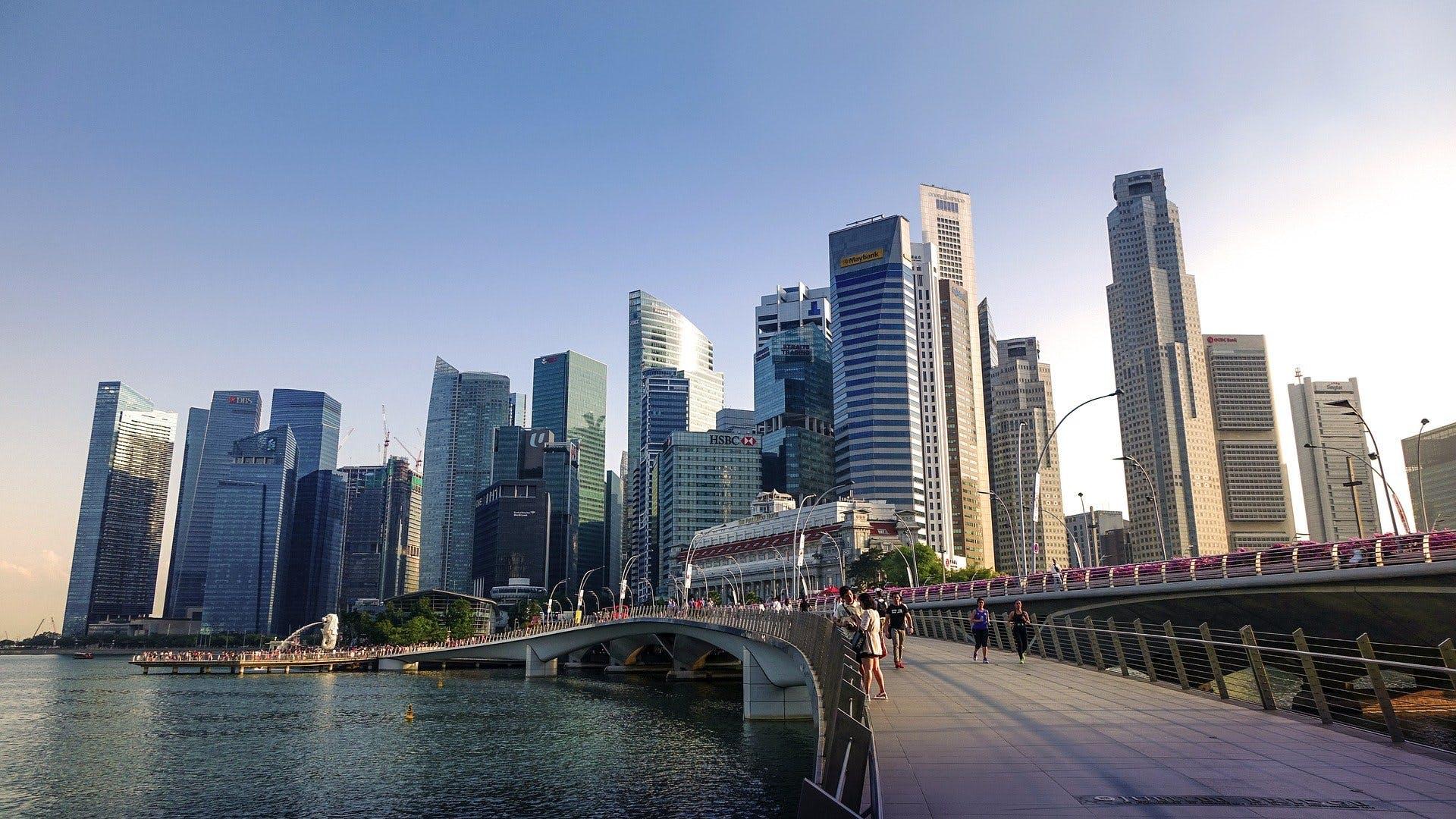 Singapore skyline, photo by Pixabay