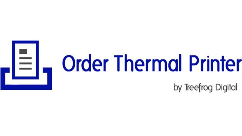 Order Thermal Printer
