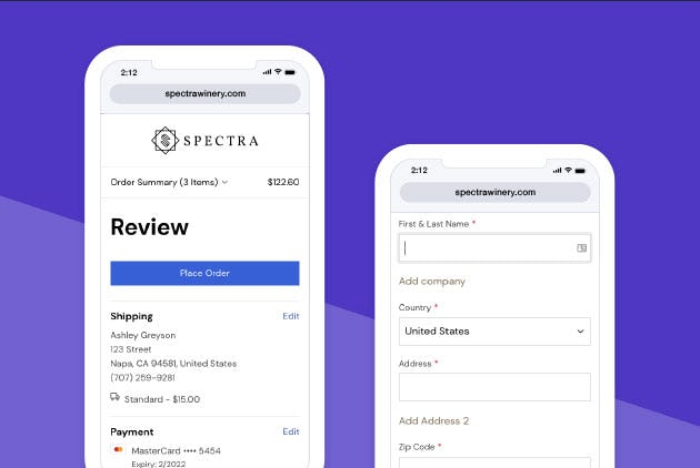 Placing an Order on Your Mobile Device Just Got Easier