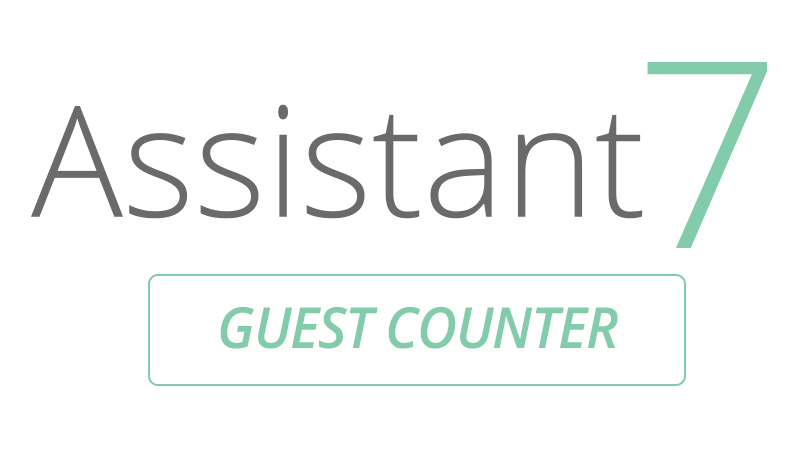 Assistant7 Guest Counter