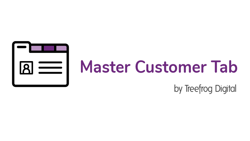 Master Customer Tab