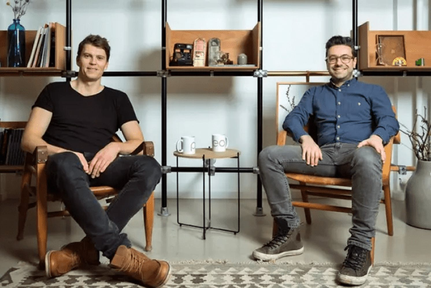 Pleo's two co-founders