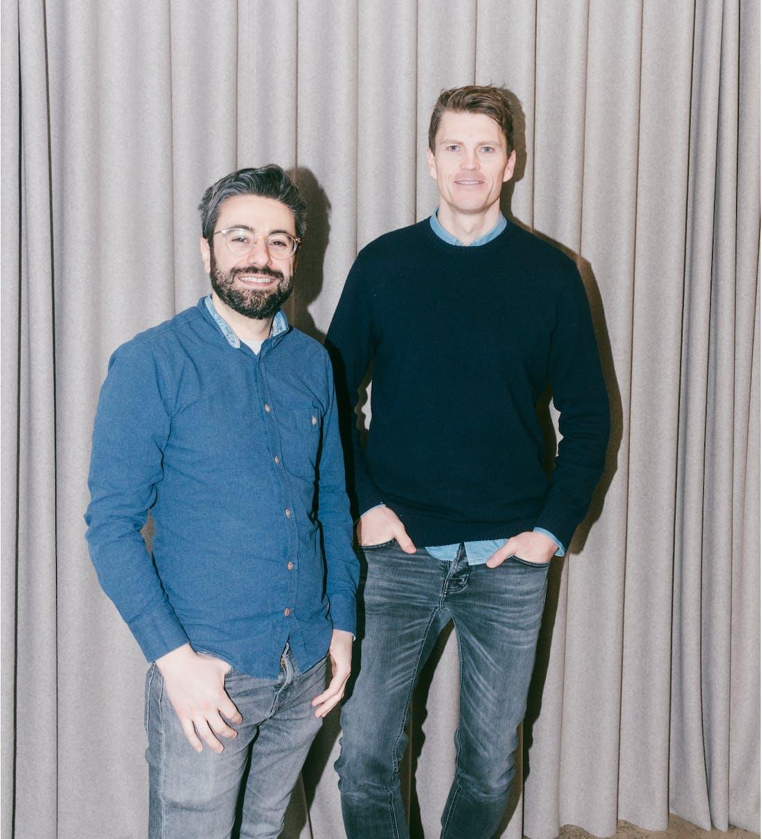 The founders of Pleo