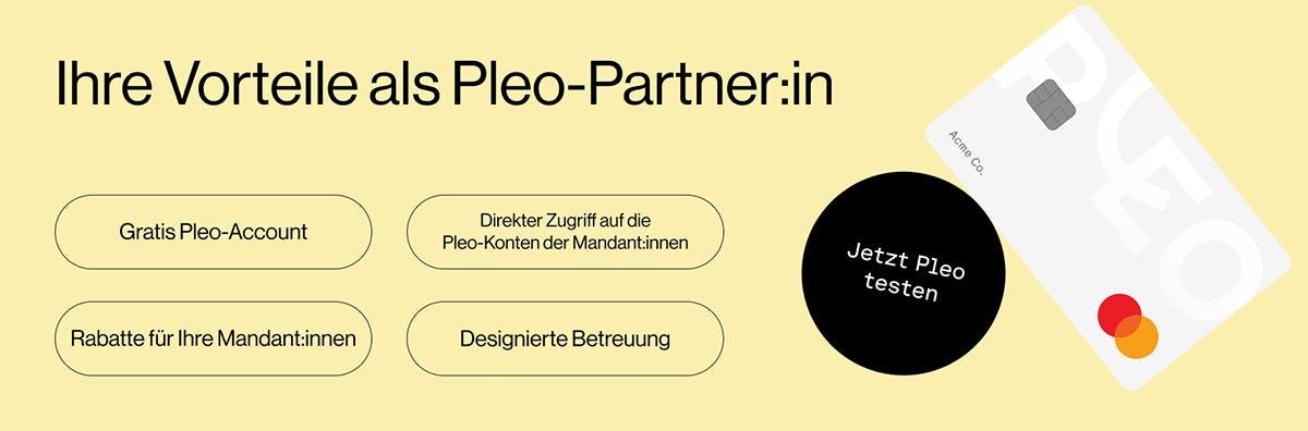 Pleo Partner-Vorteile